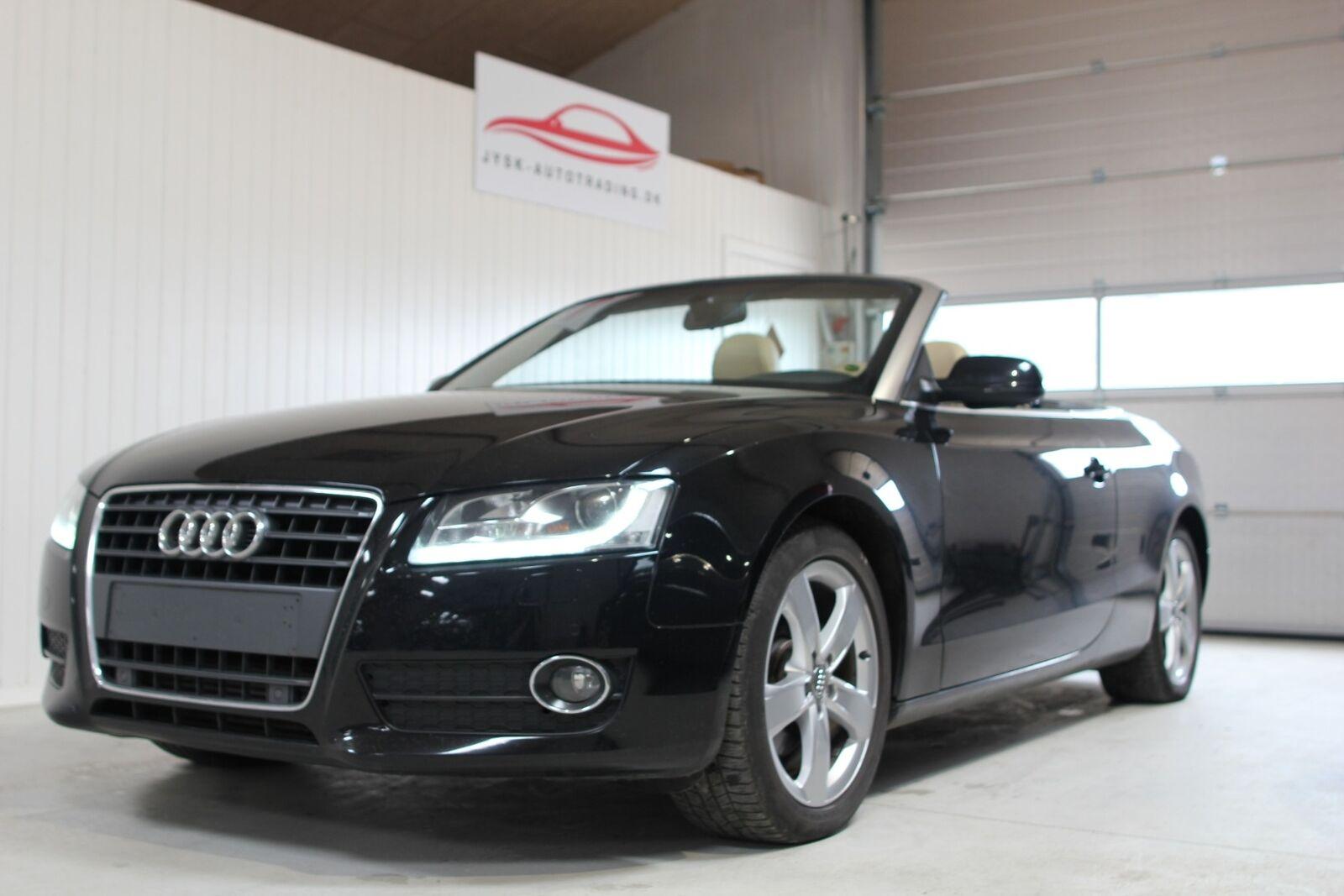 Audi A5 2,0 TFSi 180 Cabriolet Multitr. 2d
