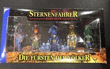 Starfarers of Catan Alien Friendship Figures Die Fursten Der Volker RARE!!