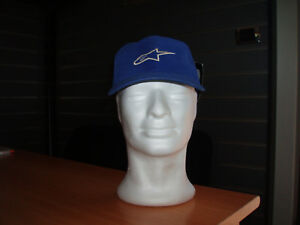 CAPPELLINO-ALPINESTARS-MOTOCROSS-CORPORATE-HAT-BLUE-TG-TU