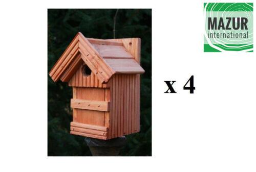 wood hotel small birds Garden Nesting Box Bird House free delivery