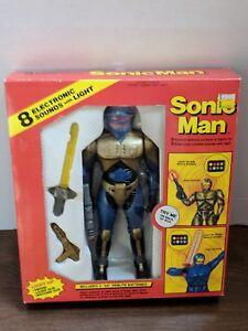 Vintage Sonic Man Soma Toys Walmart 1990 Robo Cop Clone In Box Ebay