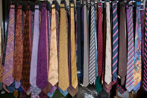 NEW-Men-039-s-Designer-Neckties-Ties-Lot-FREE-SHIPPING-NWOT-WHOLESALE-SILK