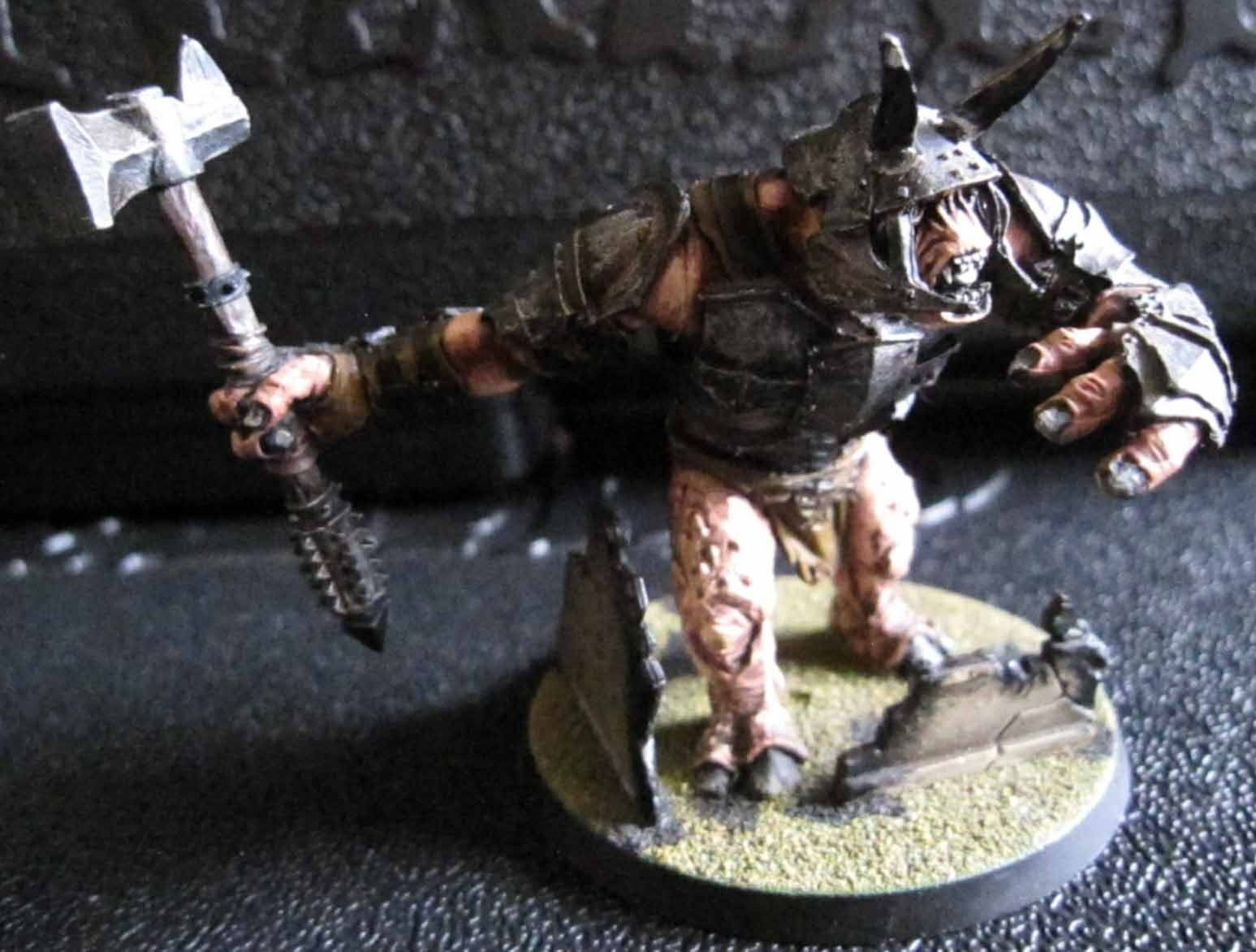 Games Workshop The Lord of the Rings - Mordor Troll (metal) - 28mm