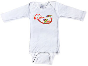 Classic Columbus Tubi Speciali Baby Infant One Piece Short & Long Sleeve Cycling