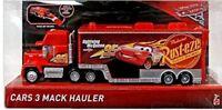 Cars 3 Mack Hauler camion Dinoco Mattel Disney Pixar