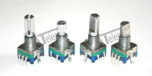 UK Rotary Shaft Encoder EC11 5 pin digital potentiometer with push switch