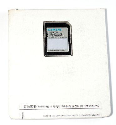 SIEMENS 6ES7954-8LC03-0AA0 NEU SIMATIC S7 MEMORY CARD; 4MB