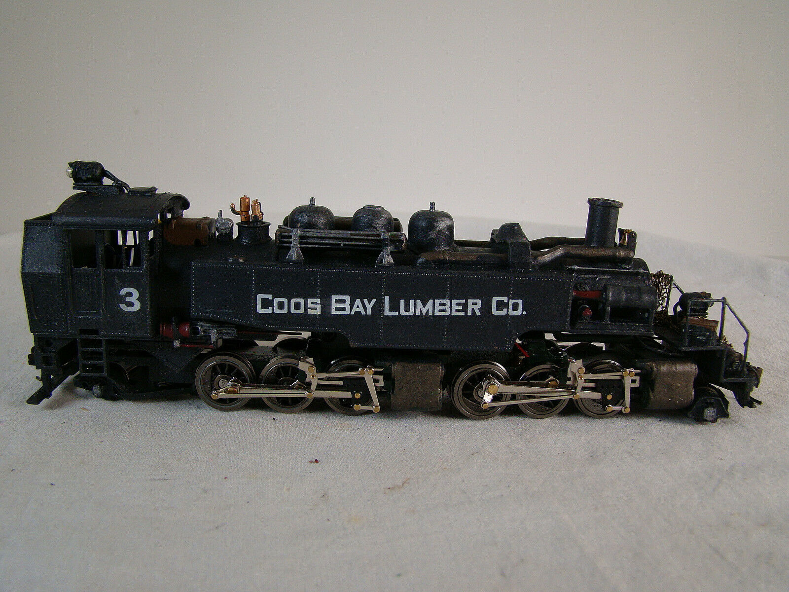 HO Mantua Steam Logging Locomotive - custom weatherosso - 2-6-6-2 Mallet