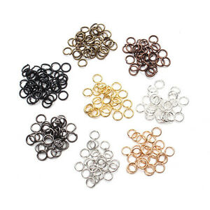 50-500Pcs-Stainless-Steel-Round-Loop-Split-Open-Jump-Ring-Connector-DIY-Findings