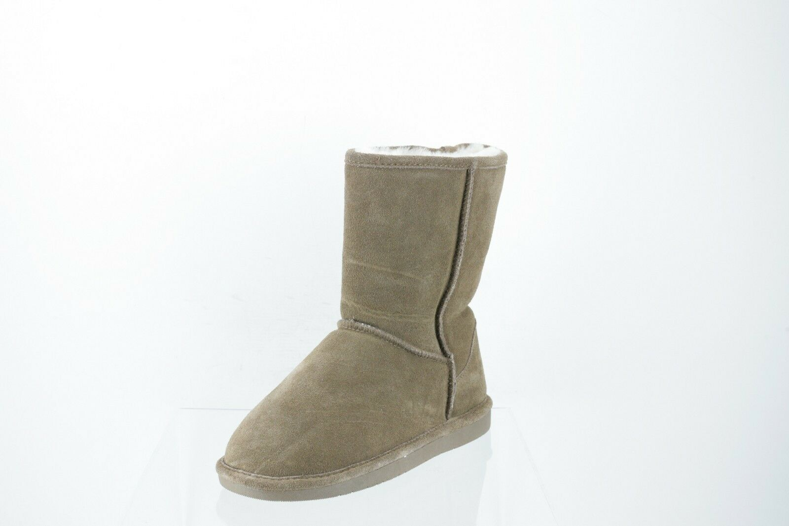 Abound Sasha Brown Suede Faux Fur Short Boots Women's Shoes Size 8 M NEW