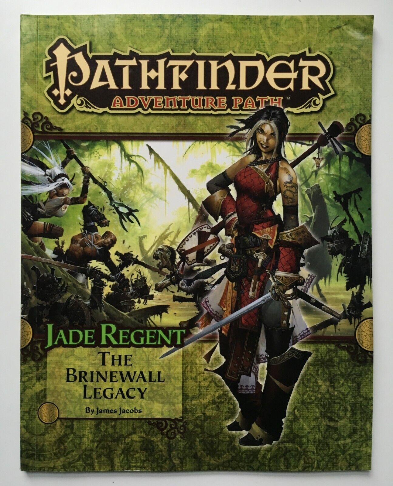 Jade Regent  1 - The Brinewall Legacy - - Paizo Pathfinder Adventure Path  49