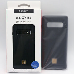 Spigen-Galaxy-S10-Plus-Case-LAMANON-Classy-Black-for-Samsung