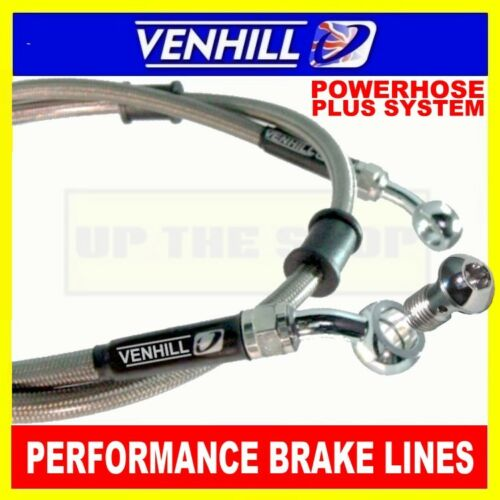 825mm 1200mm Custom Stainless steel braided Powerhose Plus brake lines VENHILL