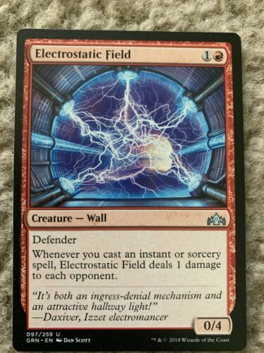 ELECTROSTATIC FIELD X1 Guilds Of Ravnica GRN Magic MTG MINT CARD