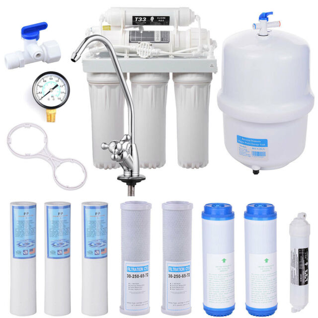5 stage reverse osmosis system ro water filter 13 total filters