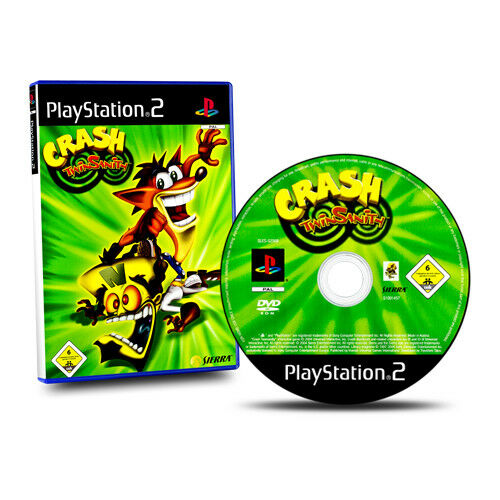 Playstation 2 - PS2 Game Crash - Twinsanity Original Packing without Manual #A