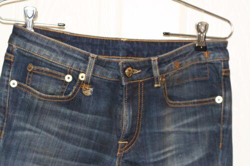 Skinny Taille détail au R13 De Bnwot 325 Bedford Détail Bleu En Jean 27 Alison xYq7qS5F