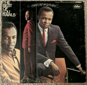 The Best of Lou Rawls (LP, 1974, Capitol Records)