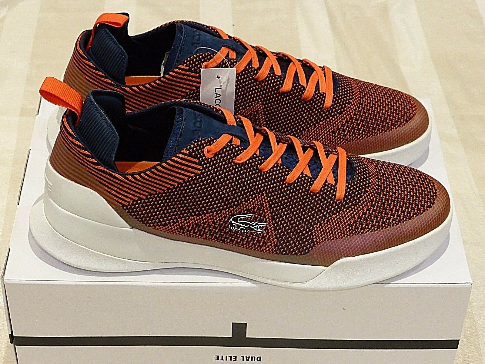 "LACOSTE LT Dual Max Elite 317 2 Spm ""Red Navy"" New (9US) Max Dual Men Air gel ultra 90 6f4d96"