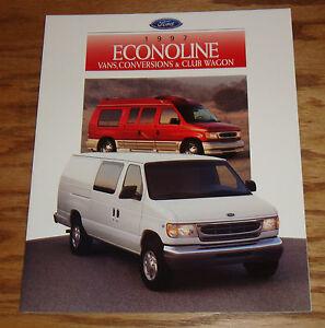 Image Is Loading Original 1997 Ford Econoline Van Conversion Club Wagon