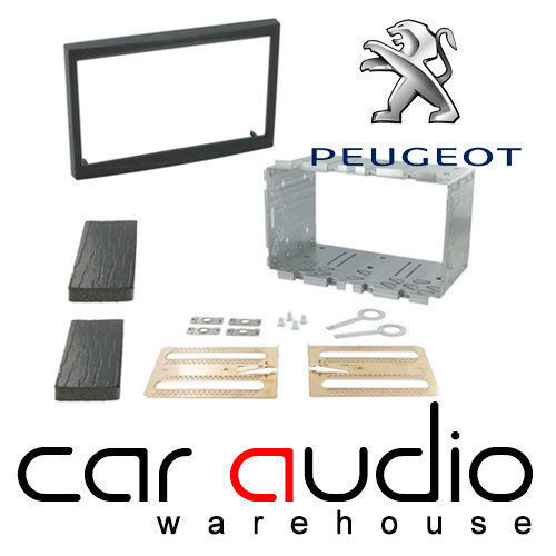 Peugeot 307SW 2002 On Car Stereo Radio Double Din Fascia Fitting Kit CT23PE01A