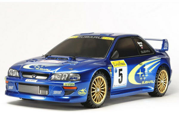 58631 Tamiya Subaru  Impreza Monte autolo TT-02 KIT CON BRUSHLESS Lipo Combo AFFARE  acquista online