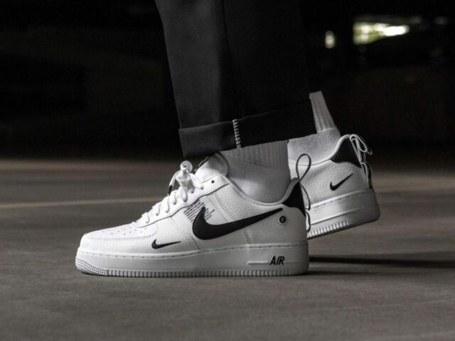 Nike Air Force 1 One Utility LOW UK US 7 8 8.5 9 10 11 12 weiß 07 LV8 alle Größen