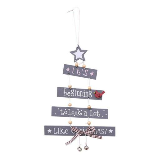 Christmas Decorations Tree Ornament Patterned Hanging Accessories Supplies SZ