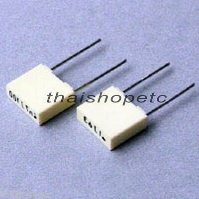 5 x 0.1uF 63V 105C 5% Metalized Polyester Film Capacitor General Purpose