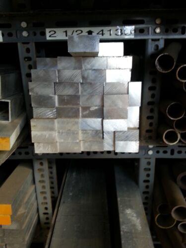 """6061 Aluminum Solid Rec Bar Drop 3//4/"""" x 6/"""" x 35 1//2/"""""""