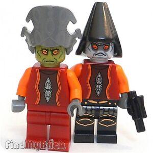 SW303 Lego Custom Nute Gunray /& Daultay Dofine Neimoidians CUSTOM Minifigs NEW