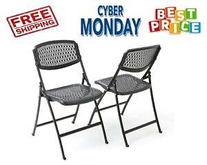 Mity Lite Flex Folding Chair Black 4 Pack Free Shipping