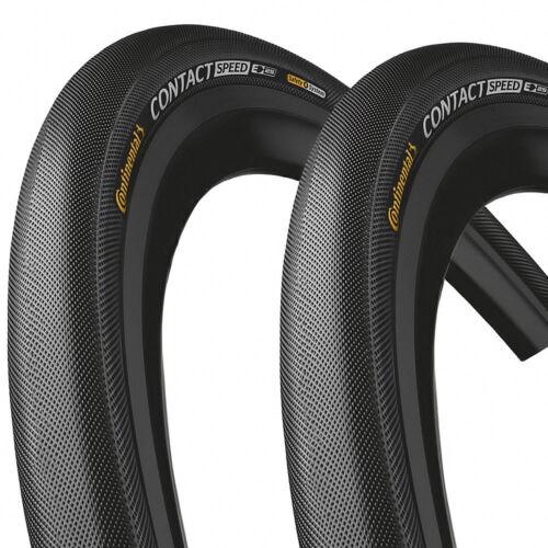 2x Continental Reifen Contact Speed E-25 Draht 26x1,6Zoll 42-559mm schwarz