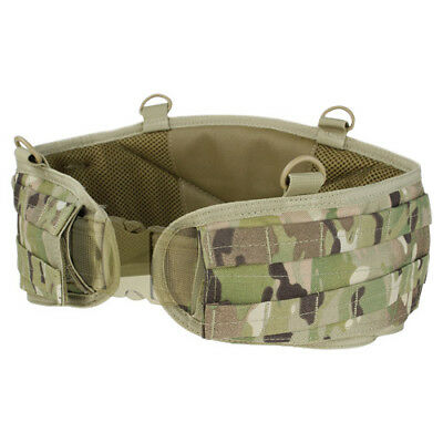 Condor Military Patrol Battle Belt Molle Gen Ii Hunting Airsoft Webbing Multicam