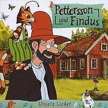 Pettersson-und-Findus-Unsere-Lieder-von-Sven-Nordqvist-CD-Zustand-gut