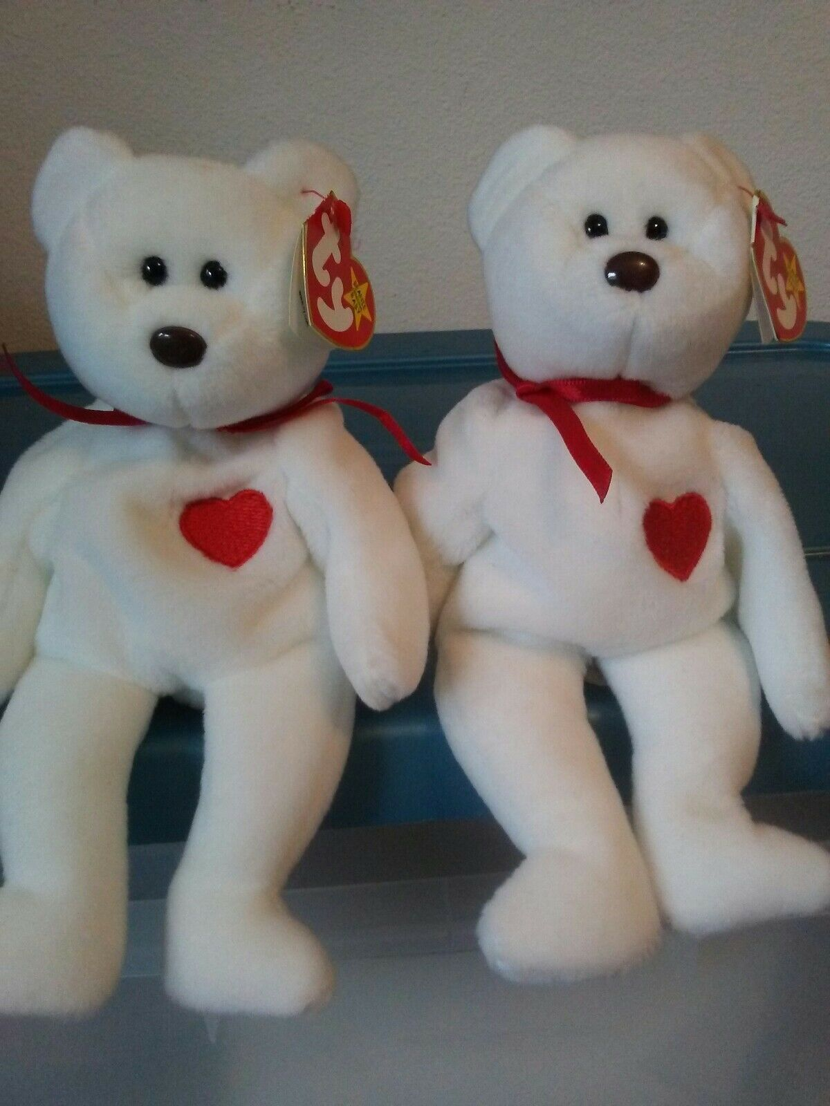 Ty Ty Ty Beanie Babies Valentino the Bear 5a71a2