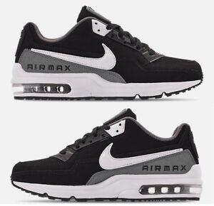 promo code c0a47 ab2fa Das Bild wird geladen Nike-Air-Max-Ltd-3-Herren-Schwarz-Weiss-