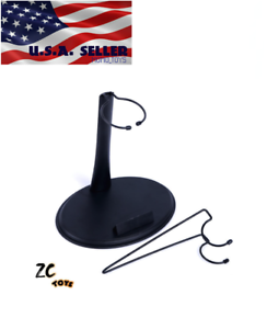 1//6 Scale Action Figure Display Stand with U /& C Hook Adjustable Height ❶USA❶