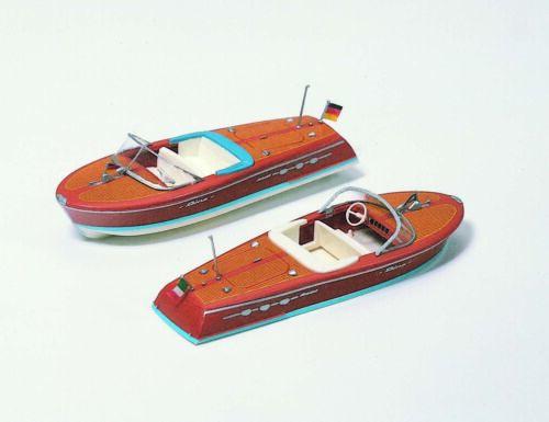 Preiser 17304 HO 1:87; deux moteur bateaux neuf dans sa boîte