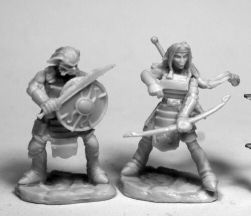 77476 Hobgoblin Warriors x2 REAPER MINIATURES BONES