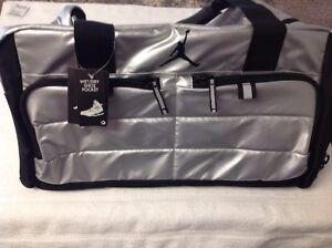 f8f4057ee14f7a New Nike Air Jordan Jumpman All World Duffle Duffel Bag Silver ...