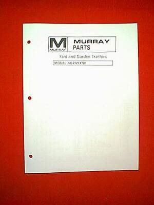 MURRAY TWIN CYLINDER YARD AND GARDEN TRACTOR MODEL # 46209X9B PARTS MANUAL  | eBay | Two Cylinder Wiring Diagram Murray |  | eBay