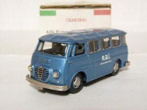 CB-Modelli-1-43-Alfa-Romeo-Romeo-2-Bus-Handmade-Resin-White-Metal-Model-Car