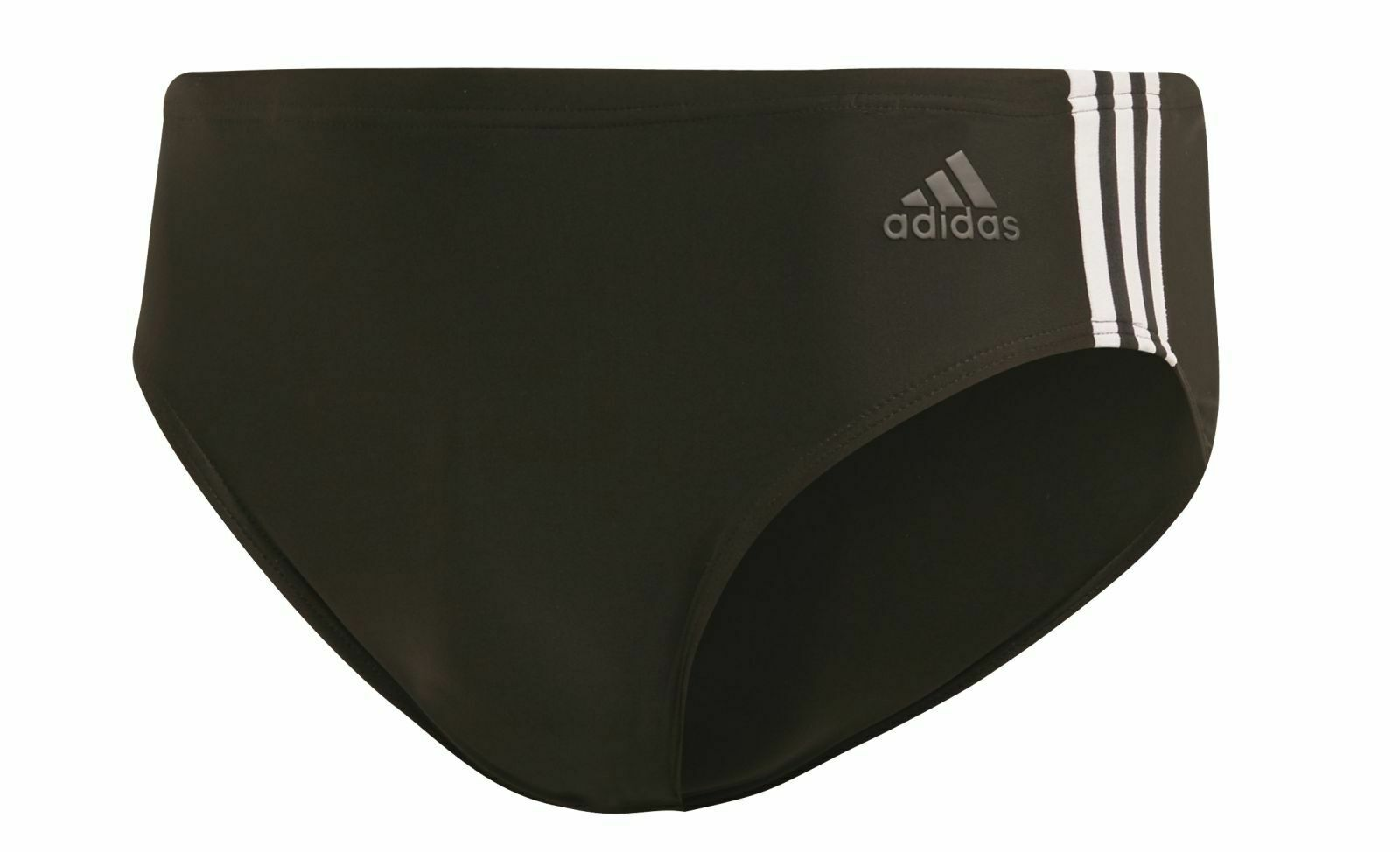 Adidas Performance Badeslip 3-Stripes Schwarz