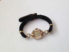 Original Rolex Tudor Swiss made 17 Rubies 14k Gold Filled Ladies Wrist Watch