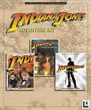 Pc LucasArts Indiana Jones 3 + 4 + 5  Deutsch KULT ADVENTURE KIT
