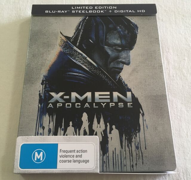 X-Men: Apocalypse (2016) - JB Hi-Fi Limited Steelbook Blu-Ray   Like-New