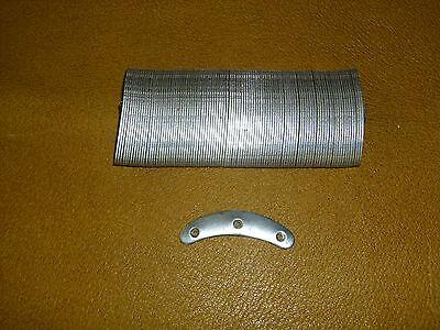 2 stück Stoßplatten Schuheisen Stiefeleisen von Schwelma Gr.4