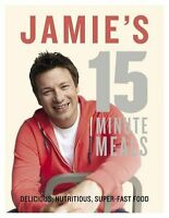 JAMIE'S 15-MINUTE MEALS by JAMIE OLIVER [2012] [BOOK] NEW
