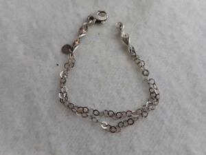925 sterling silver bracelet  hammered with clasp